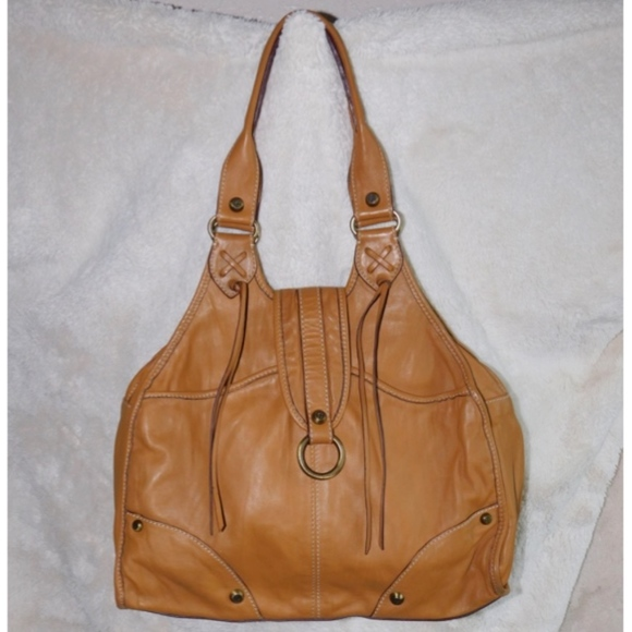 9fd0165f842 Francesco Biasia Bags   Soft Leather Satchel Shoulder Bag   Poshmark